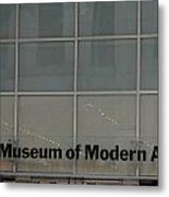 The Museum Of Modern Art Metal Print