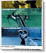 The Music Lovers, Us Poster Art, Bottom Metal Print