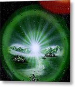 The Music Of The Universe Metal Print