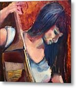 The Musician Metal Print