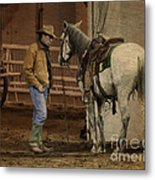 The Mustang Whisperer Metal Print