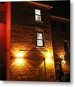 The Mysterious Stranger Upstairs Metal Print by Guy Ricketts