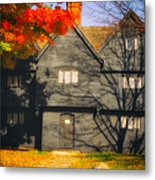 The Mysterious Witch House Of Salem Metal Print