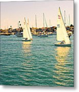 The Mystery Of Sailing Metal Print