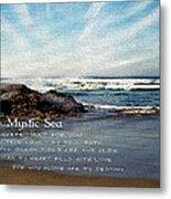 The Mystic Sea Metal Print