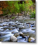 The Narrows A Place To Pause Metal Print