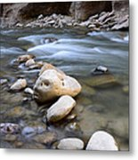 The Narrows One Step At A Time Metal Print
