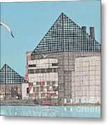 The National Aquarium Metal Print by Calvert Koerber