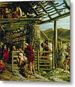 The Nativity Metal Print by William Bell Scott