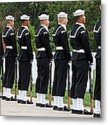 The Navy Ceremonial Guard Metal Print