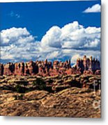 The Needles Metal Print