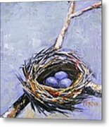 The Nest Metal Print