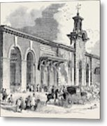 The New Bricklayers Arms Terminus Of The South-eastern Metal Print