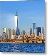 The New Manhattan Metal Print by Olivier Le Queinec