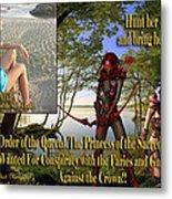Princess Of The Sacred Lake Metal Print