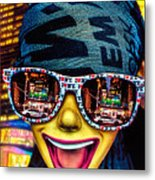 The New York City Tourist Metal Print by Chris Lord
