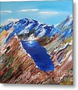 The New Zealand Alps Metal Print