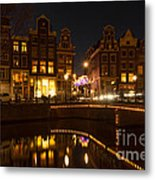The Nine Streets Amsterdam Metal Print