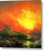 The Ninth Wave Metal Print
