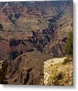 The Nooks And Cranies Of The Grand Canyon Metal Print