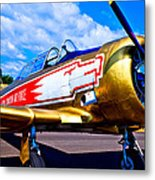 The North American T-6 Texan Airplane Metal Print by David Patterson
