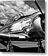 The North American T-6 Texan Metal Print