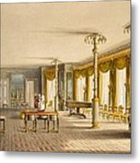 The North Drawing Room, Or Music Room Metal Print