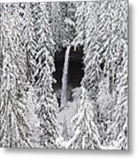 The North Falls View Metal Print