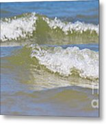 The North Sea Metal Print by Angela Doelling AD DESIGN Photo and PhotoArt