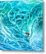 The North Shore Optimist Metal Print