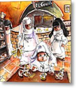 The Nuns Of Toledo 02 Metal Print