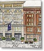 The Nyu Steinhardt Pless Building Metal Print