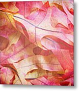 The Oak Leaf Pile Metal Print