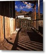 The Oatman Hotel Metal Print