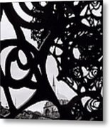 The Obscured Mosque Metal Print