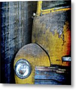 The Ol Chevy Metal Print