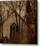 The Old Abandoned Church Metal Print