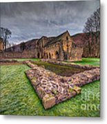 The Old Abbey Metal Print