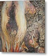 The Old Apple Tree Metal Print