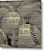 The Old Ballgame Metal Print