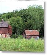 The Old Barn Metal Print