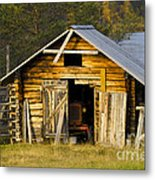 The Old Barn Metal Print by Heiko Koehrer-Wagner