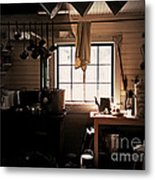 The Old Camp Kitchen Metal Print