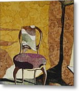 The Old Chair Metal Print