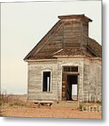 The Old Church In Town Metal Print