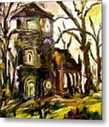 The Old Church Metal Print by Michelle Dommer