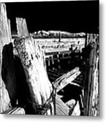 The Old Corral Metal Print