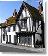 The Old Court Hall Hastings Metal Print