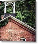 The Old Erie Schoolhouse Metal Print