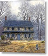 The Old Farmhouse Metal Print by Chuck Pinson